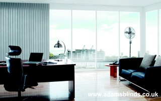 Made To Measure Vertical Blinds With Professional Fitting Service