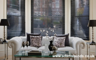 VENETIAN WOODEN BLINDS • Daytime, evening, weekend and after office hours appointments • fitting service