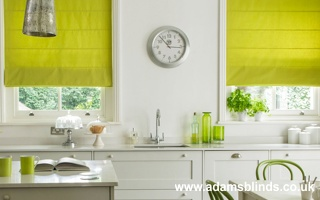 Made To Measure Roman Blinds With Professional Fitting Service