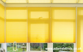 Made To Measure Pleated Blinds With Professional Fitting Service