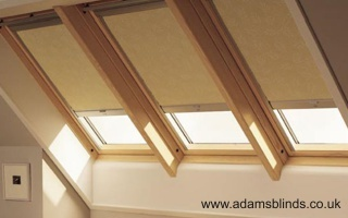 Made To Measure Skylight Blinds With Professional Fitting Service