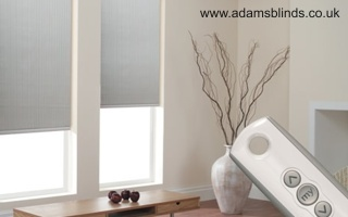 Made To Measure Motorised Blinds With Professional Fitting Service