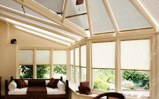 Made To Measure Vision Conservatory Roof Blinds With Professional Fitting Service